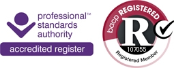 Professional Standards Authority Accredited Register; BACP registered member